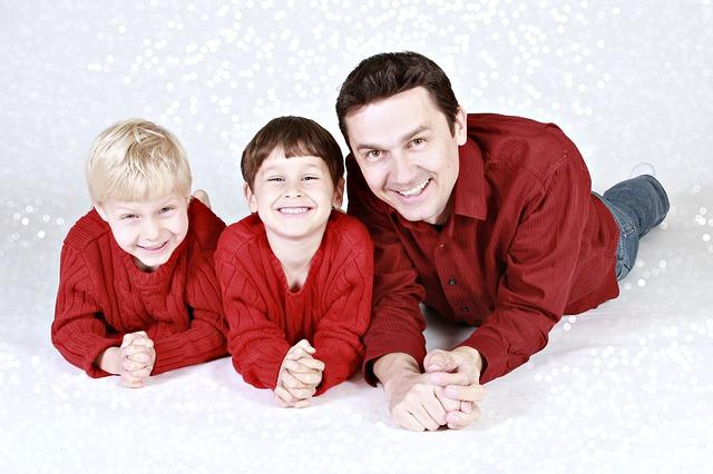 synové s otcem