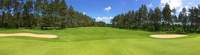 hřiště na golf