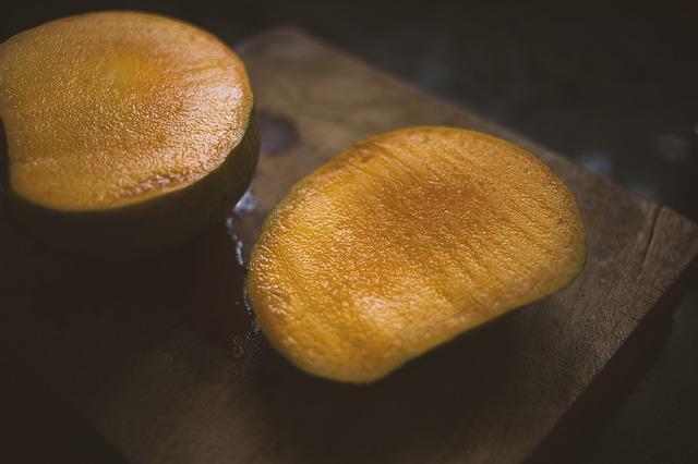 Rozkrojené mango